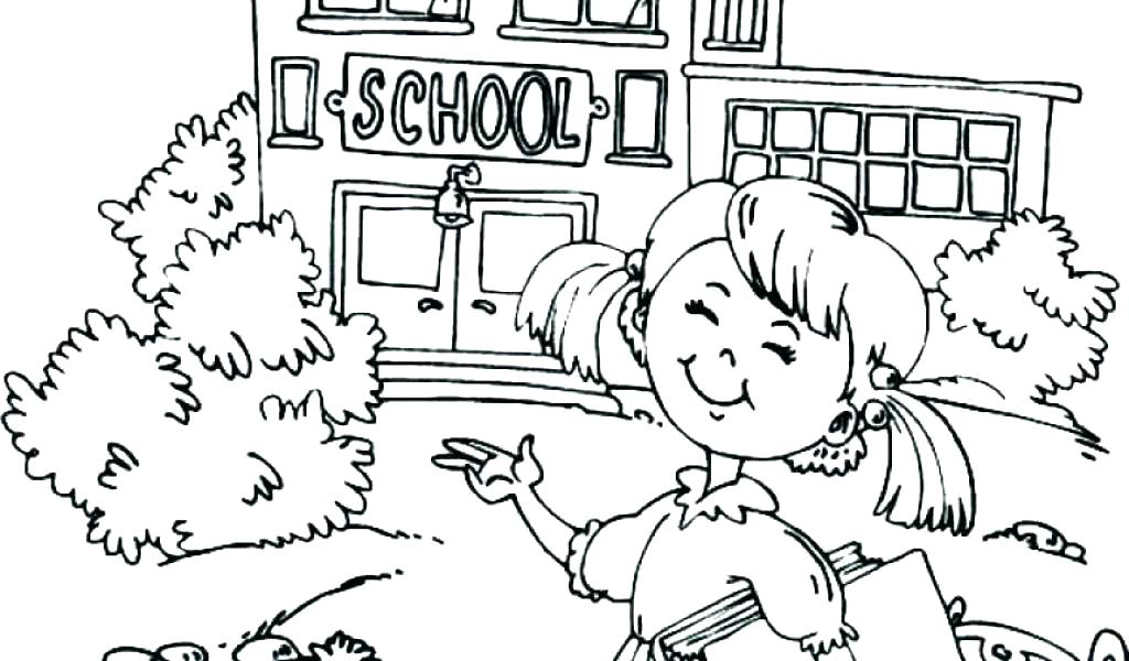 1024x600 Back To School Coloring Pages First Day Of Kindergarten Coloring