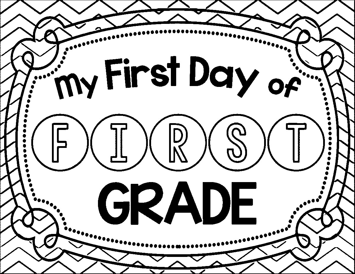 1203x930 Back To School Coloring Pages For First Grade Collection Free