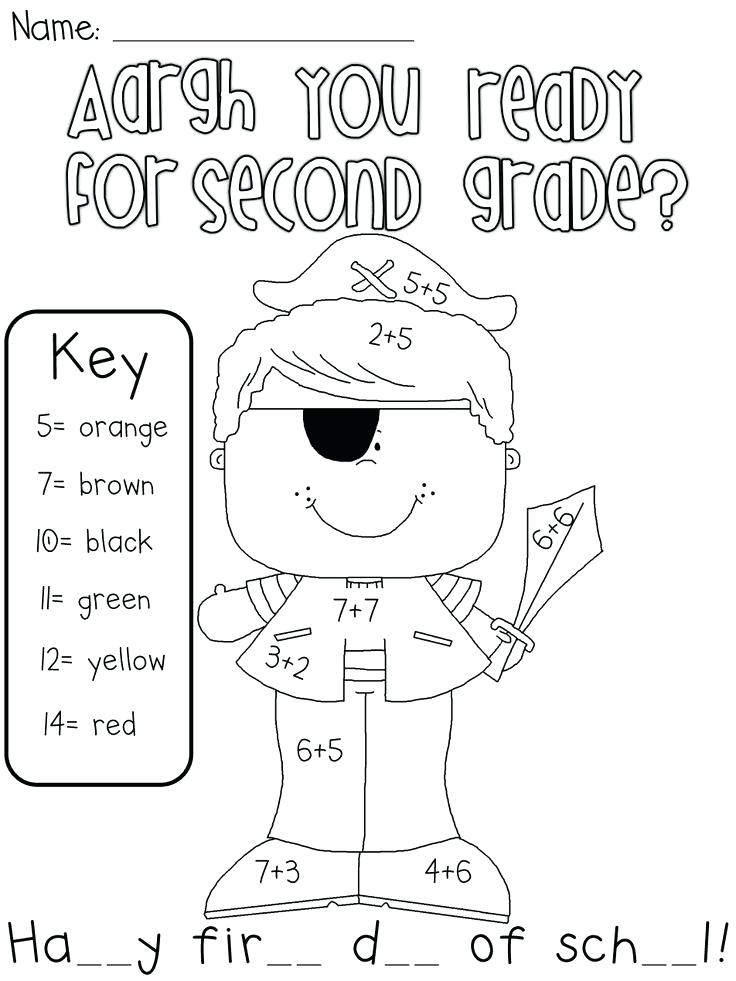 736x981 Back To School Coloring Pages For First Grade