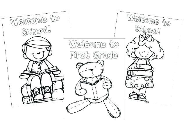 640x480 Coloring Pages For Back To School Professional