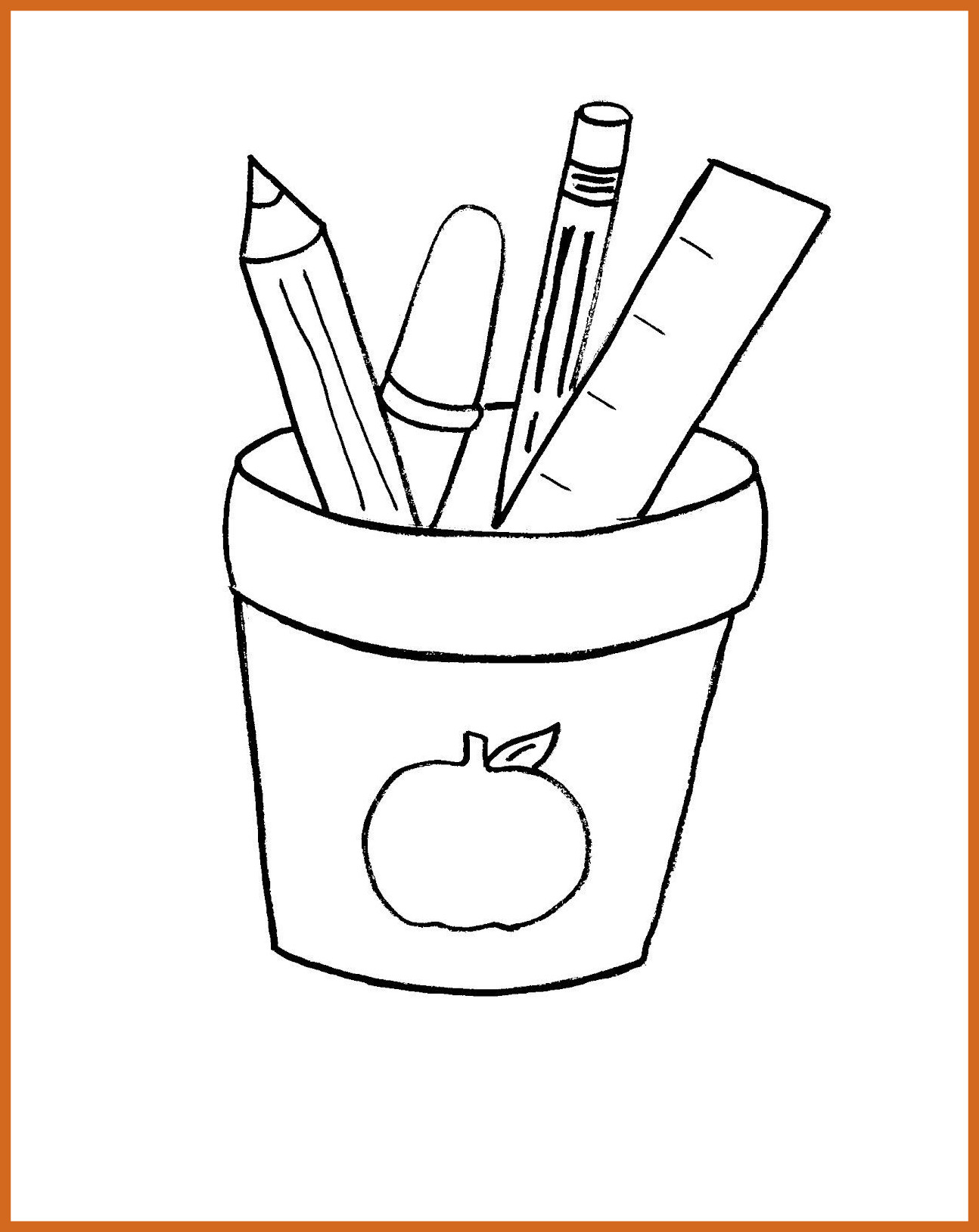 1294x1628 The Best School Coloring Pages For Kindergarten Sheet First Day