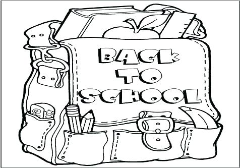 476x333 Welcome Back To School Coloring Pages Back To School Coloring Page