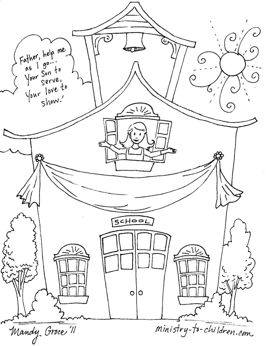 869x1118 Back To School Coloring Pages Images High Def Sheets