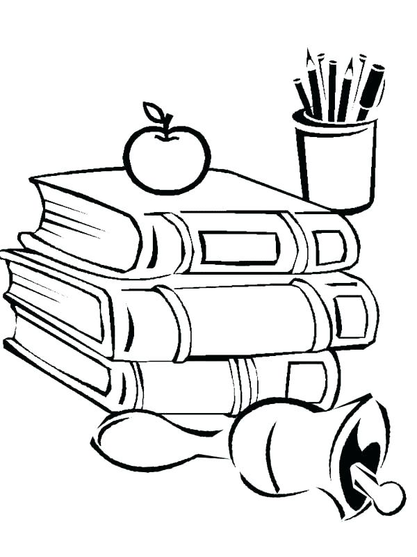 600x801 Back To School Coloring Pages Printable Back To School Coloring