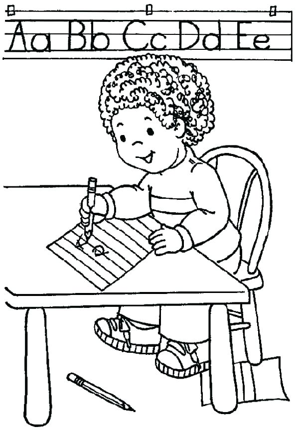 600x863 First Day School Coloring Pages For Kindergarten First Day