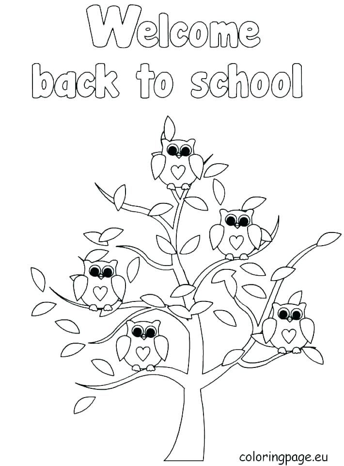710x960 Free Back To School Coloring Pages Back To School Coloring Pages