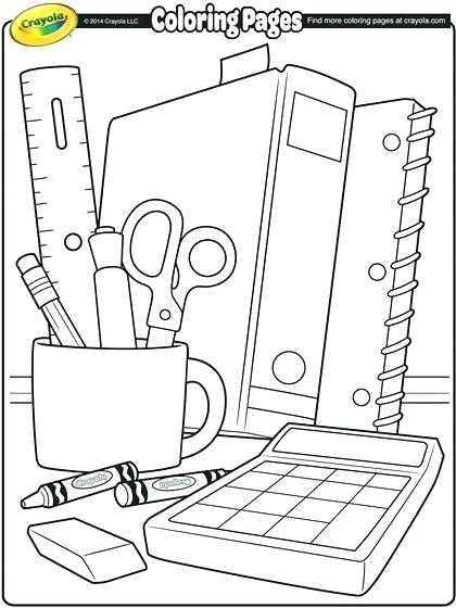 420x560 Back To School Coloring Pages For Preschool School Coloring Page