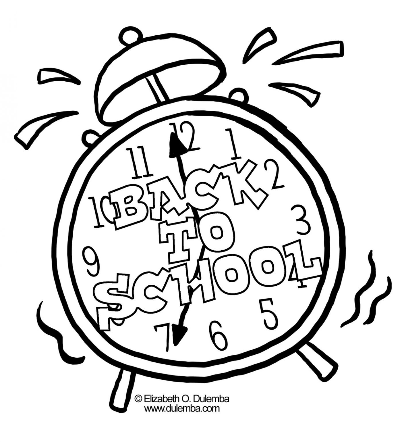 1400x1538 Free Back To School Coloring Pages For Kindergarten Second Grade