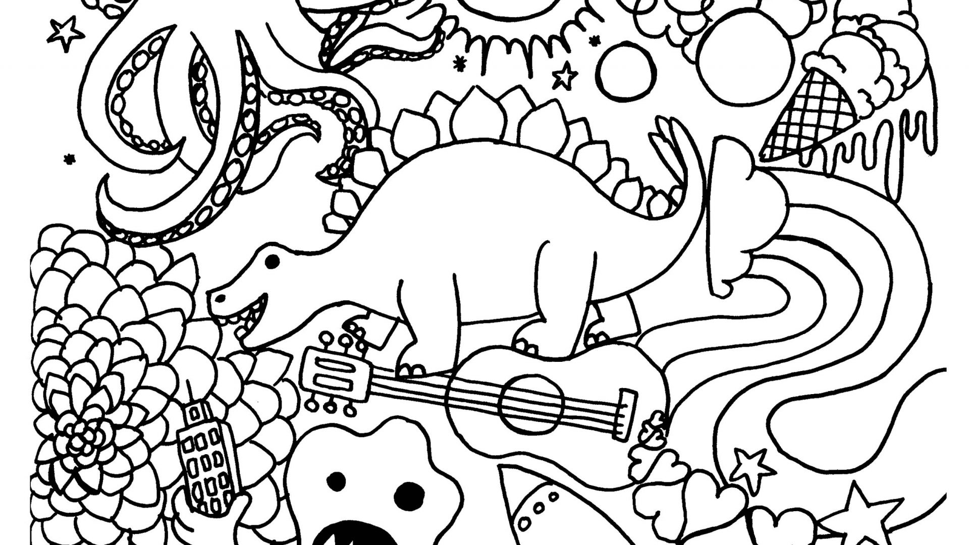 1920x1080 Fresh Back To The School Coloring Page Classes For Inside