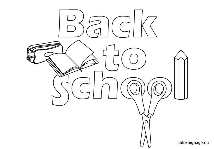 736x514 School Printable Welcome Back To School Coloring Pages