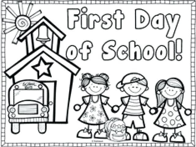 Back To School Coloring Pages Free Printables at GetDrawings ...