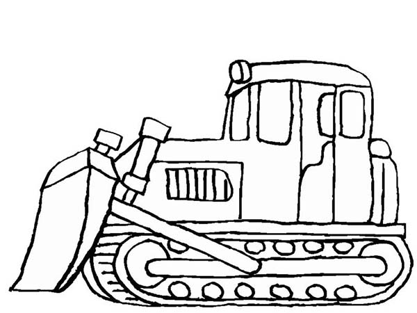 600x450 Snow Mover In Digger Coloring Page Color Luna