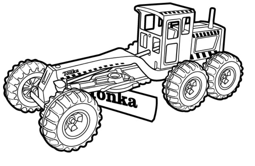 830x540 Free Construction Coloring Pages Backhoe And Bulldozer
