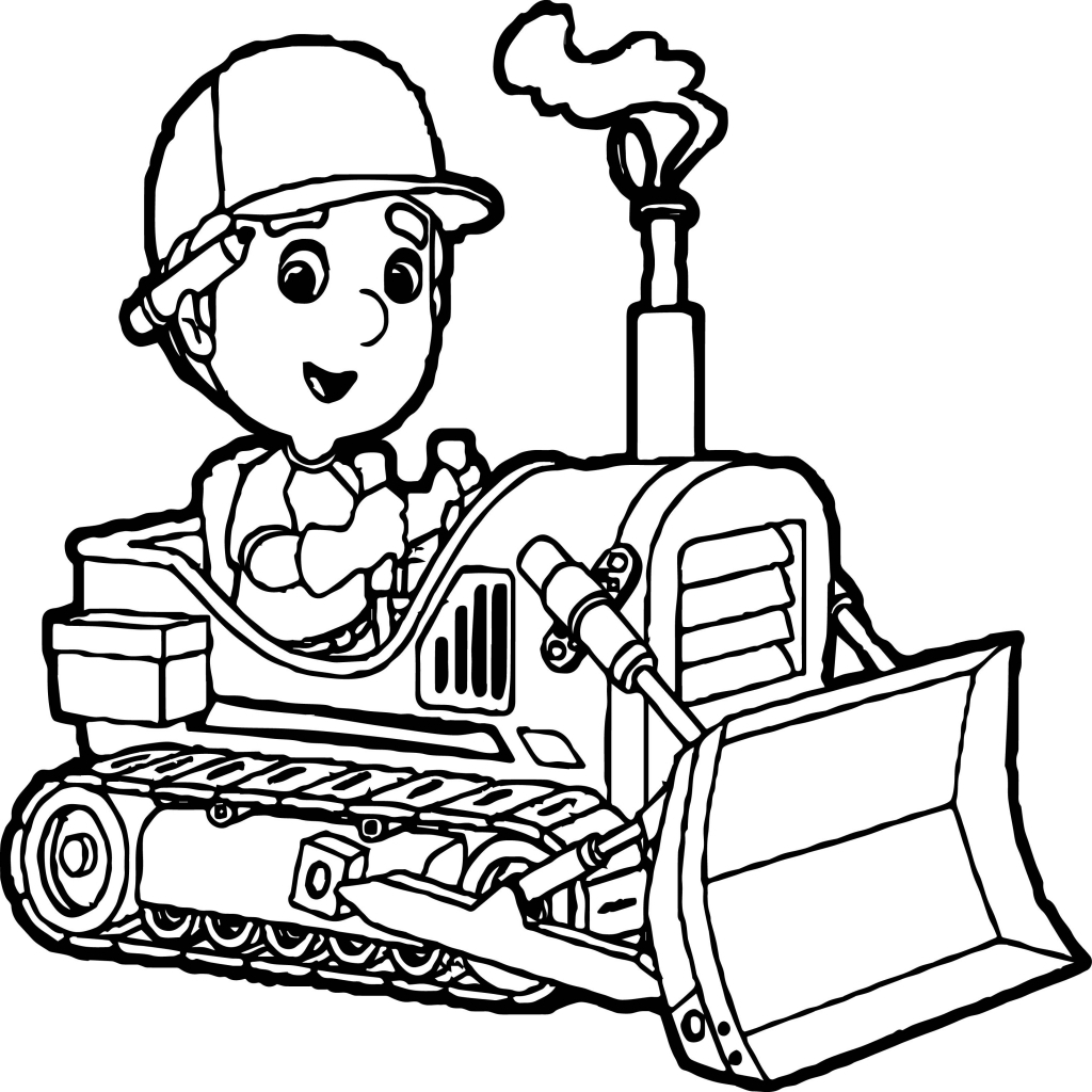 1024x1024 Bulldozer Coloring Page Elegant Bulldozer Coloring Page Coloring