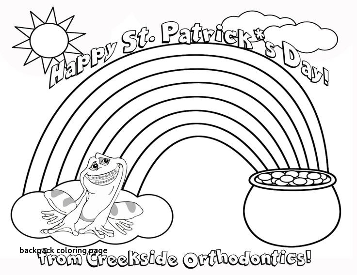 736x568 Best Coloring Pages Images On For Backpack Coloring