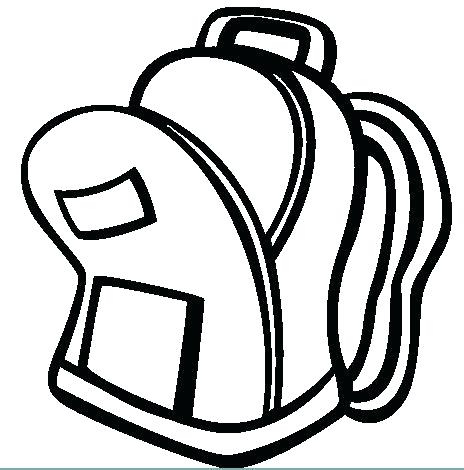 464x470 Backpack Coloring Pages Backpack Coloring Pages Free Backpack