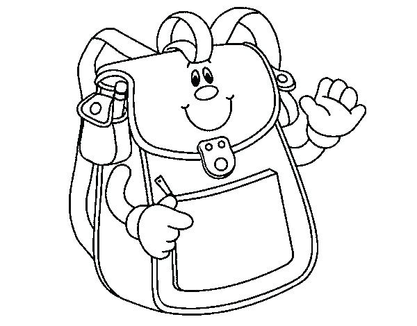 600x470 Dora Coloring Books As Well As Backpack Coloring Page School