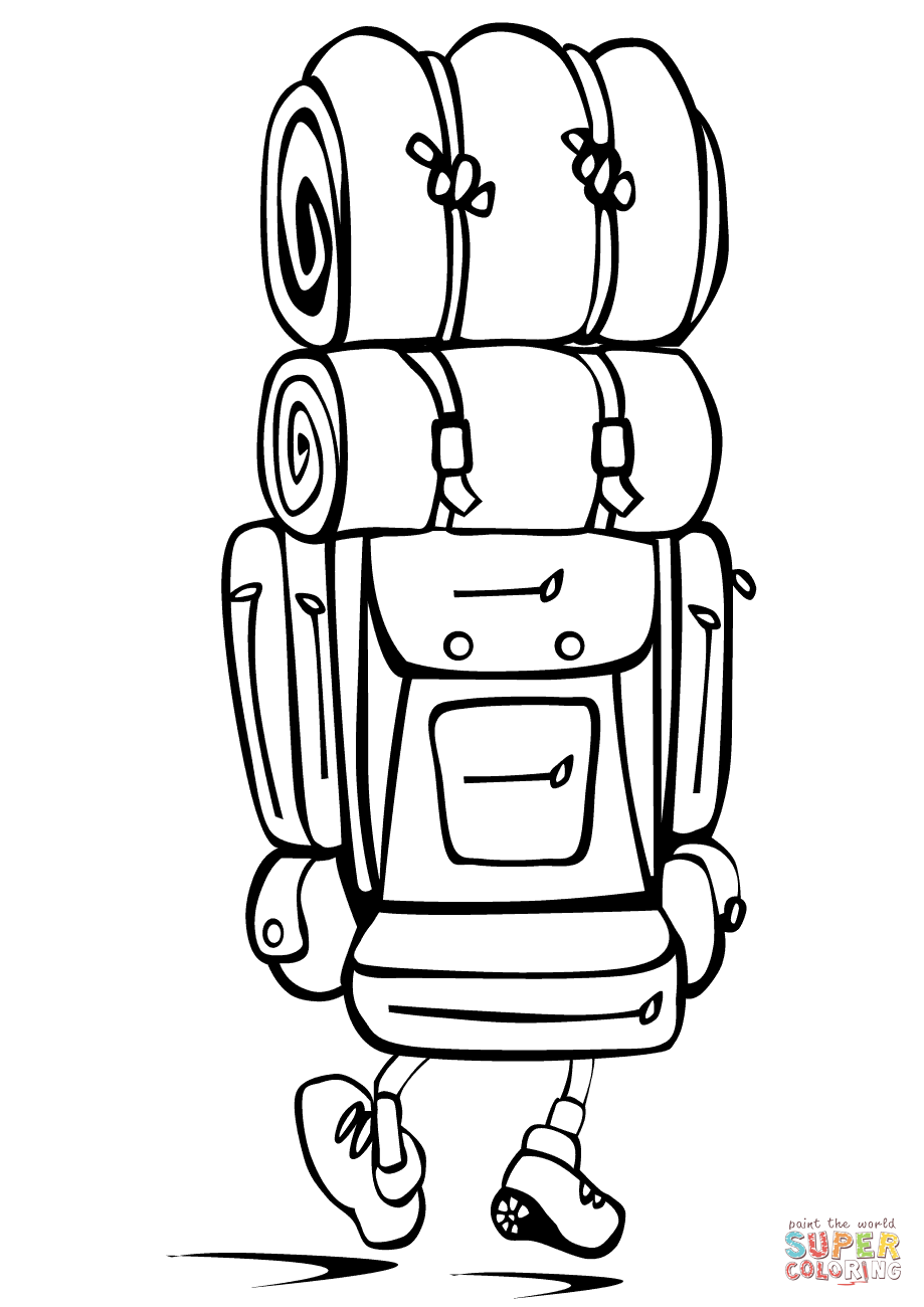 919x1300 Unique Backpack Coloring Sheet Growth New Page