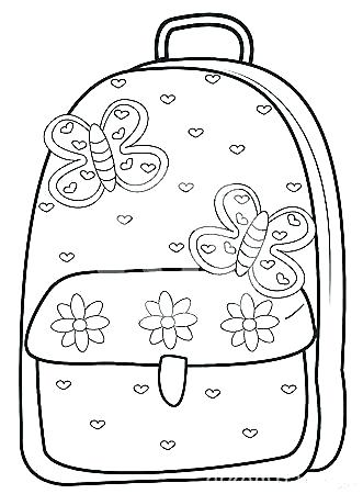 331x450 Coloring Backpack