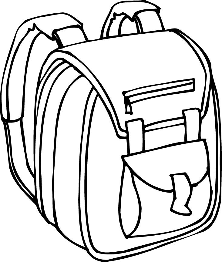 732x864 Backpack Coloring