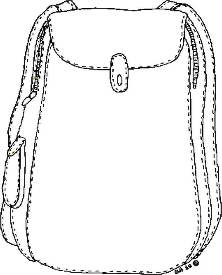 725x900 Backpack Coloring Page Craft Ideas Backpacks And Craft