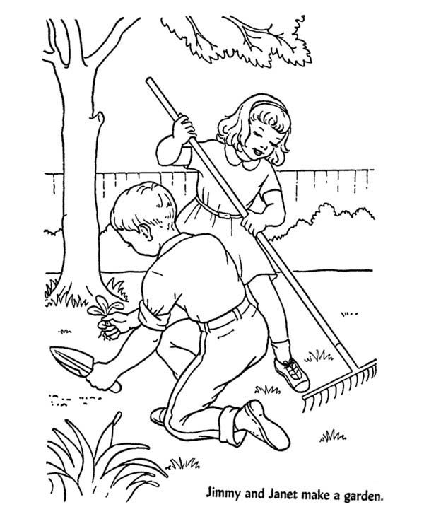 600x734 Gardening, Jimmy And Janet Gardening