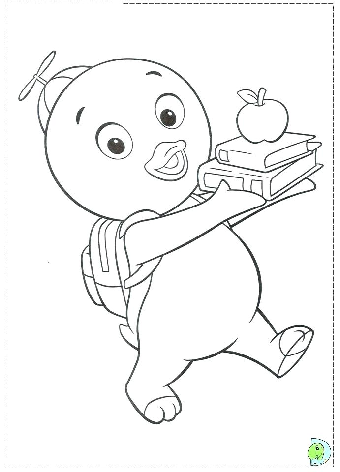 Backyardigans Tasha Coloring Pages At Getdrawings Com Free For