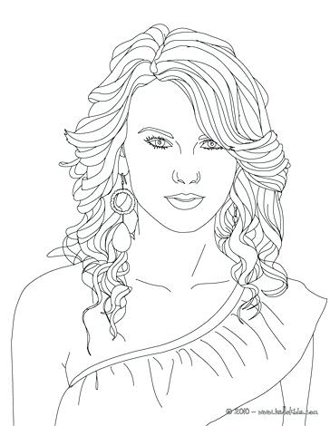 364x470 Person Coloring Pages Swift Singing Page Famous People Lego Bad