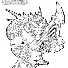 220x220 Skylanders Trap Team Coloring Pages