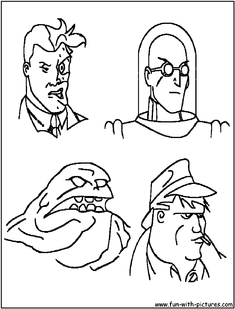 800x1050 Bad Guy Coloring Pages