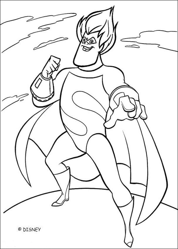 607x850 Bad Guy Coloring Pages