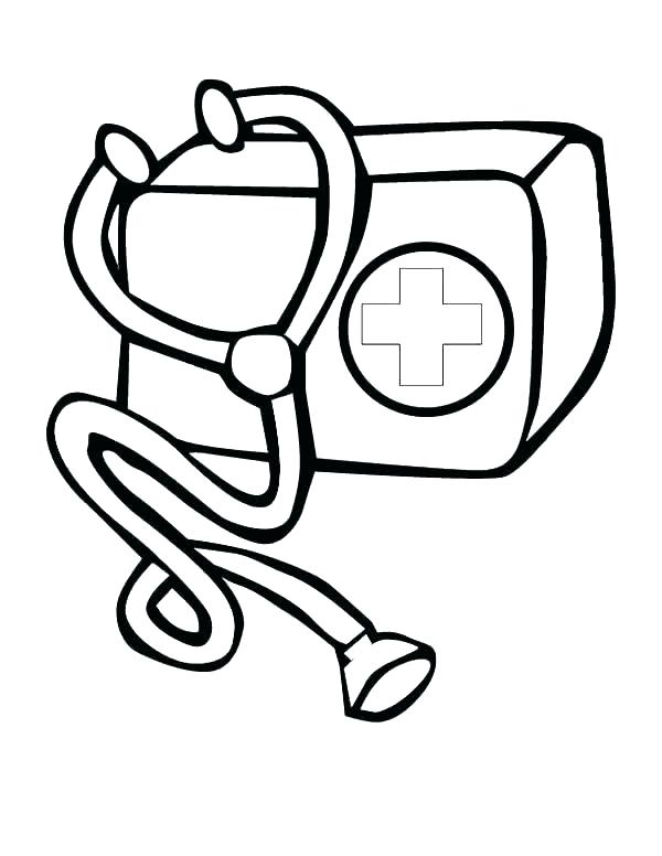600x776 Medical Coloring Pages Medical Coloring Pages Tools Coloring Pages