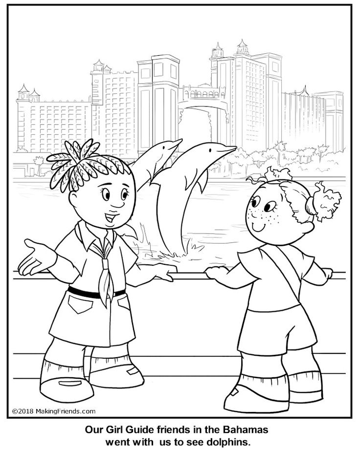 Bahamas Coloring Pages