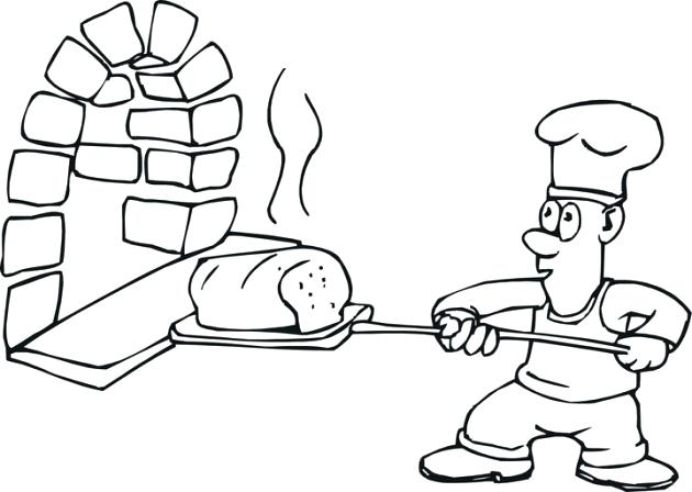 630x448 Baking Delicious Bread Kitchen Coloring Pages Zahlkarte Site