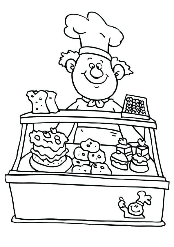 baking coloring pages 4
