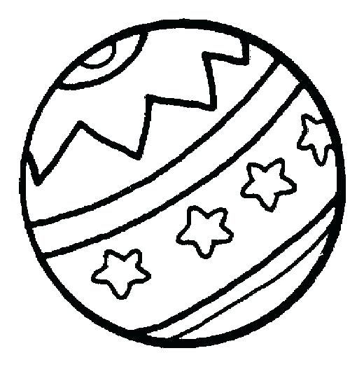 520x524 Ball Coloring Pages Ball Coloring Page Ball Coloring Page Amazing