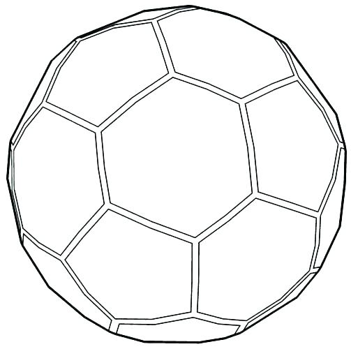 503x500 Soccer Ball Coloring Page Soccer Ball Coloring Sheet Soccer Ball