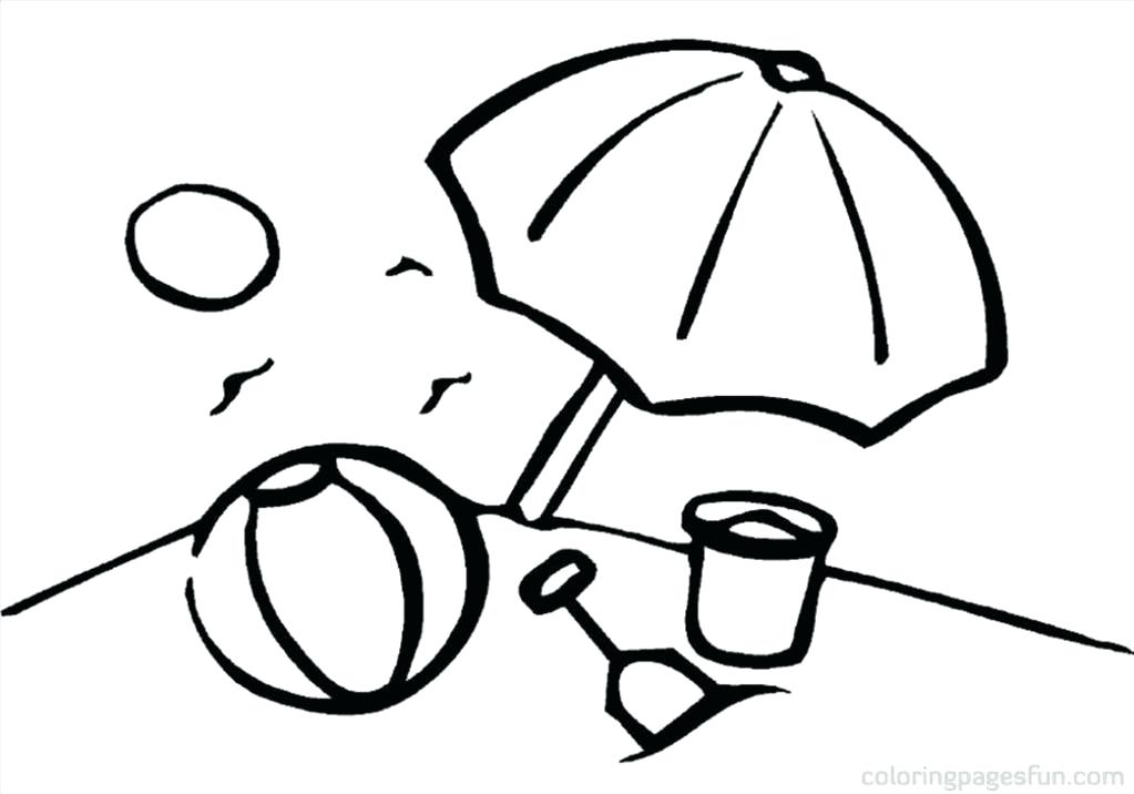 1023x716 Beach Ball Coloring Page Great Beach Ball Coloring Page Photograph