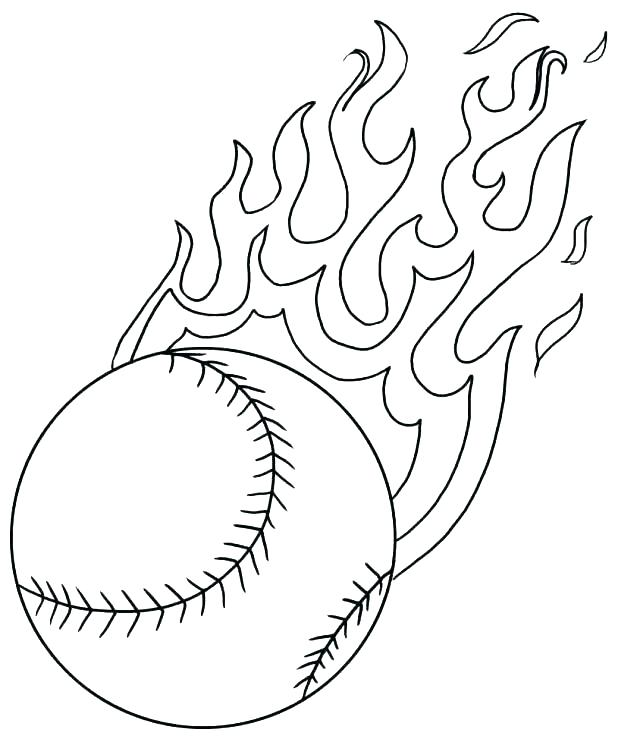 618x739 Sports Balls Coloring Pages Printable Sports Coloring Pages Free