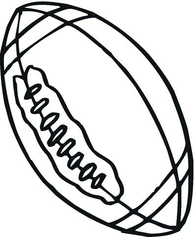 396x480 Ball Coloring Pages Click To See Printable Version Of Rugby Ball
