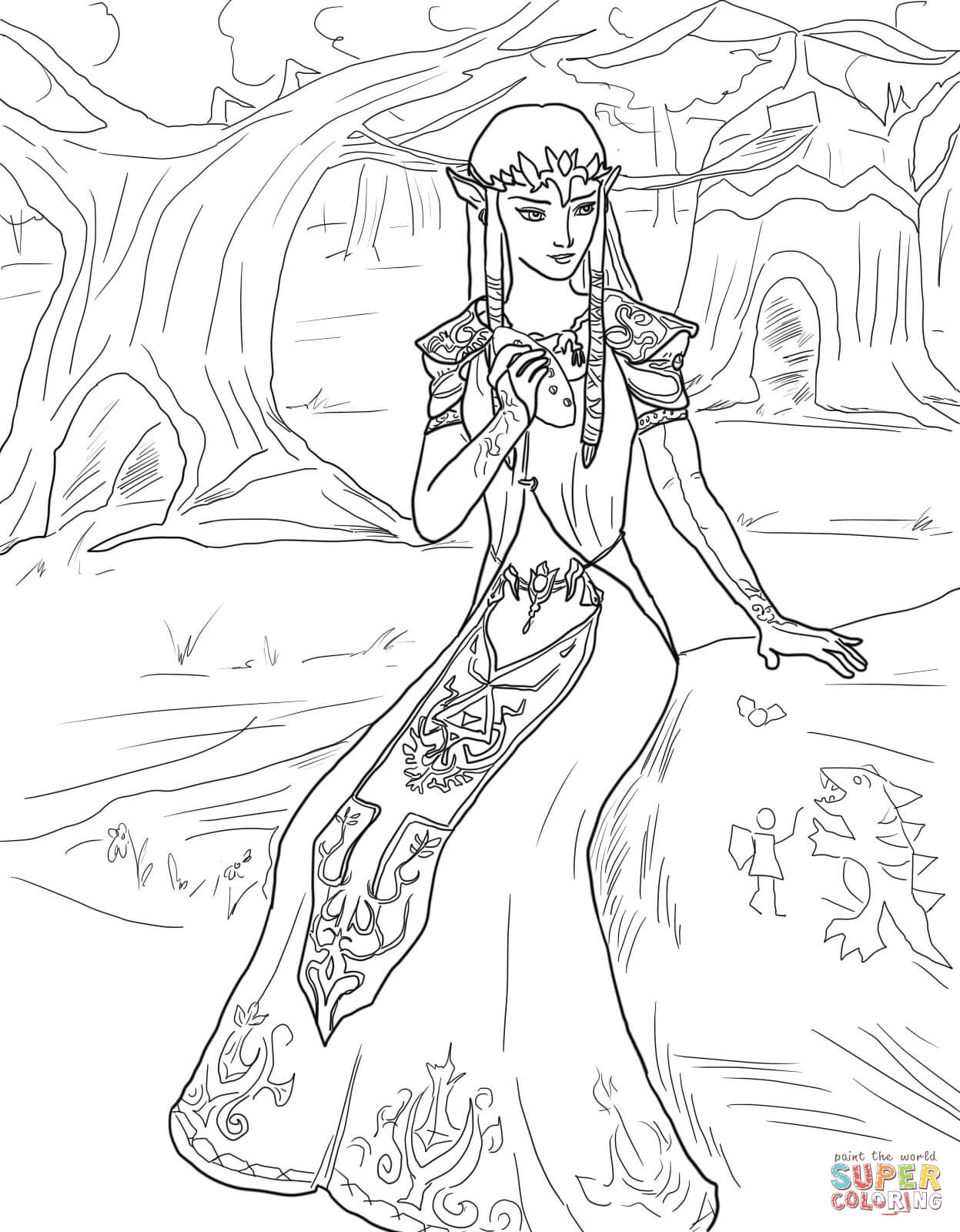 1247x1600 Ball Gown Coloring Page For Girls Printable Free Collection