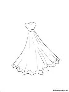 224x300 Ball Gown Coloring Pages