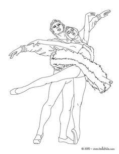 236x304 Ballerina Performing A Pique Coloring Page Dance Studio Life