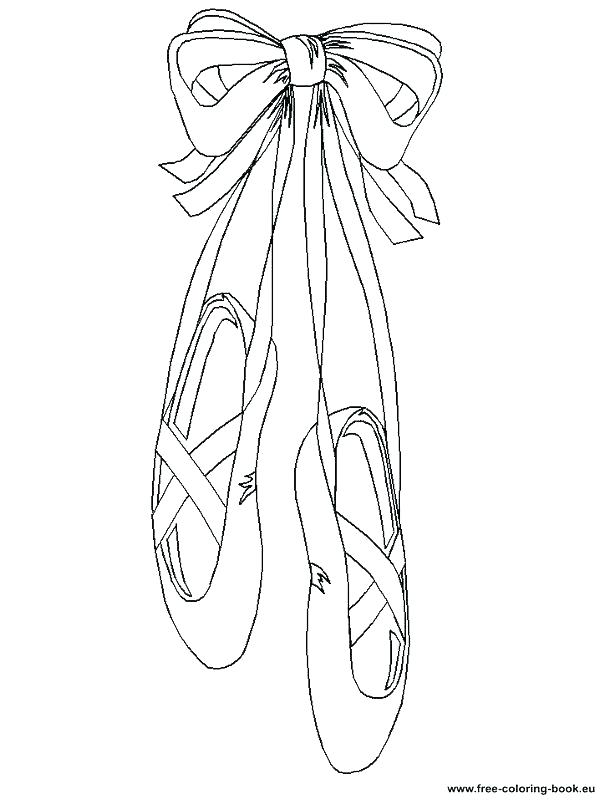 600x800 Ballet Coloring Pages