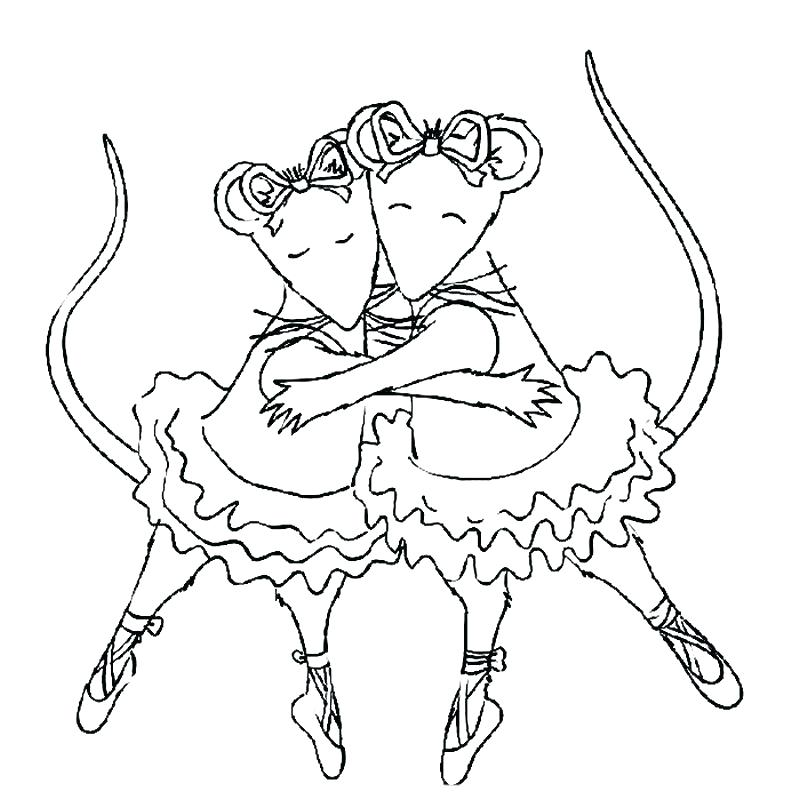800x800 Coloring Pages Ballerina Ballet Coloring Pages Printable Also Free