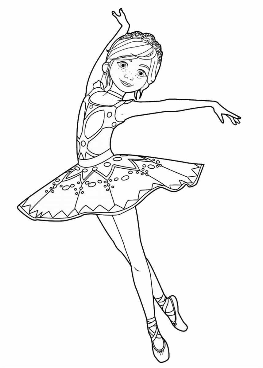 857x1200 Leap! Movie Coloring Pages + Trailer Ballerina And Birthdays