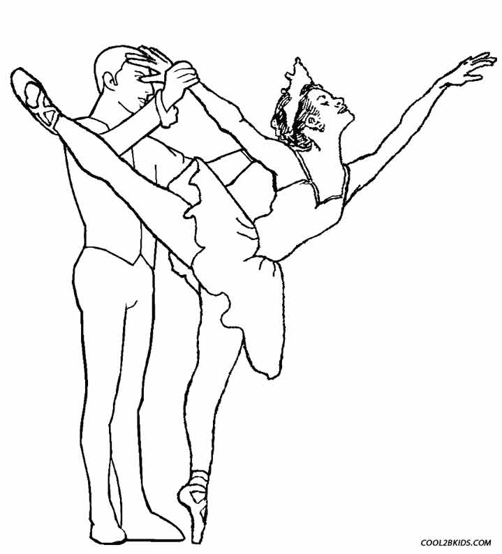 719x794 Printable Ballet Coloring Pages For Kids