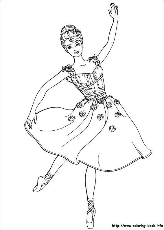 567x794 Ballerina Coloring Page Angelina Ballerina Bday