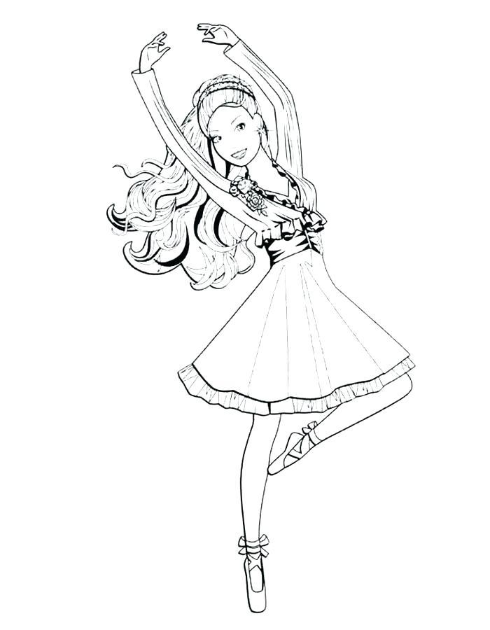 700x900 Ballerina Coloring Pages Ballet And Dancing Nutcracker Printable