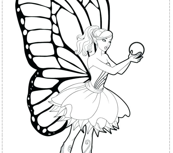 678x600 Barbie Color Page Index Coloring Pages Barbie Fairy Colouring